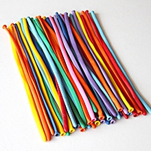 ballons de modélisation avec pompe - 200 ballons de baudruche à modeler - multicolores