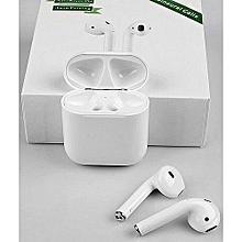 écouteurs sans fil - nw-m9x-tws - avec pochette blanc
