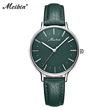 marque casual ladies quartz watches cuir mode élégante