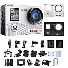 hc8000 4 k caméra 16 mp fhd 1080 avec wifi étanche sport caméra 2.0 pouces écran lcd,