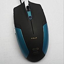 e-3lue cobra 6 boutons optique usb professionnel de la souris de jeu de trois réglable pour ordinateur portable pc portable