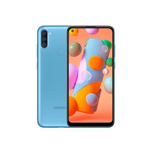 "Galaxy A11 - 4G - 6.4"" - RAM 2Go - ROM 32Go - Caméra 13+5+2MP - 4000mAh – Bleu"