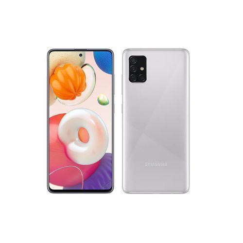 """Galaxy A51 - 6.5"""" - Double SIM - ROM 128GB - RAM 4GB - Camera 48+12+5/5MP - Silver"""
