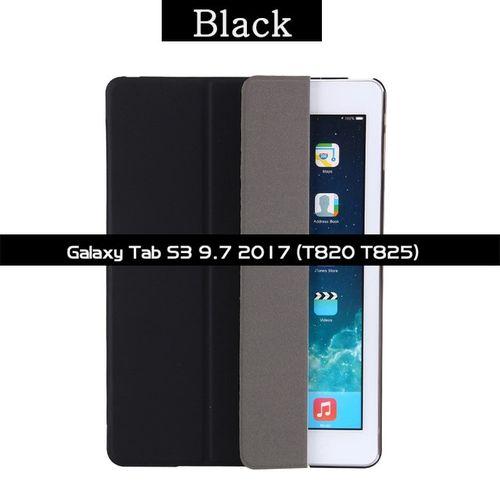 Étui pour samsung Galaxy Tab S2 9.7 SM T810 T815 T813N T819N S3 T820 T825 S4 10.5 T830 T835 Fundas Support Clapet Coque Couverture Intelligente(#SM-T820 SM-T825)