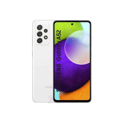 "Galaxy A52 - 6.5"" - RAM 6Go - ROM 128Go - Caméra 64+12+5+5MP - 4500mAh - Blanc"
