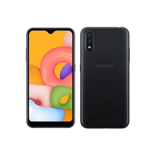 Galaxy A01 (2020) - Ecran 5.7''- Double SIM - RAM 2Go - ROM 16Go - Caméra 13 / 2 MP camera front 5MP - Batterie 3000 mAh - Noir