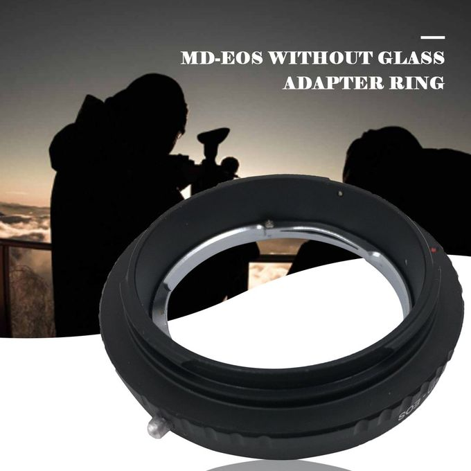 for Canon MD Lens Camera Tube Mount Adapter Ring Aluminum Alloy Adapter Ring Without Glass Adapter