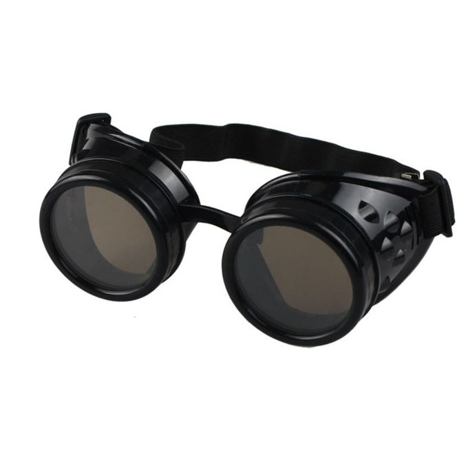 Steampunk Goggles Gothic Retro Bril Zonnebril Ronde Cosplay Performance LF