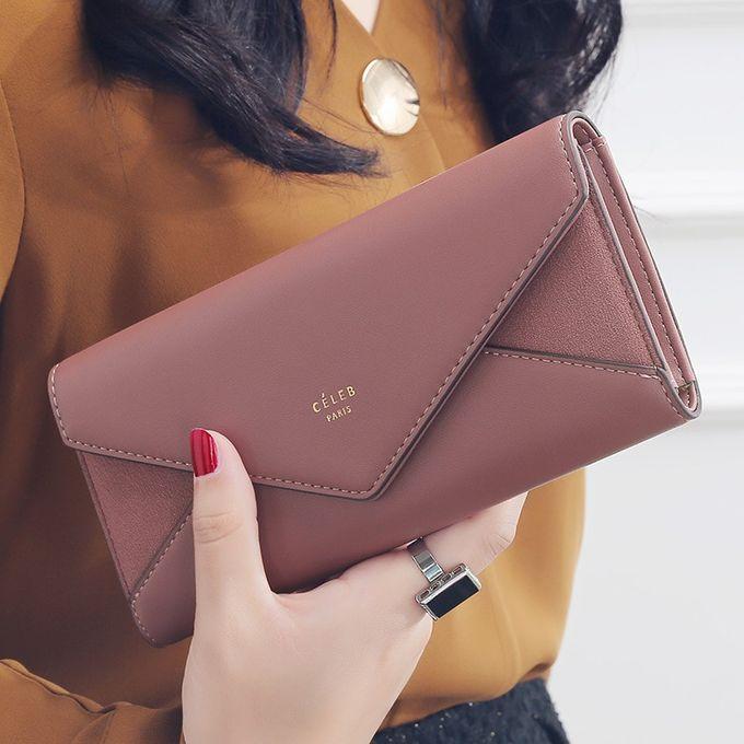 Luxury Lady femmes embrayage long sac à main portefeuille en cuir porte-carte sac à main sac téléphone