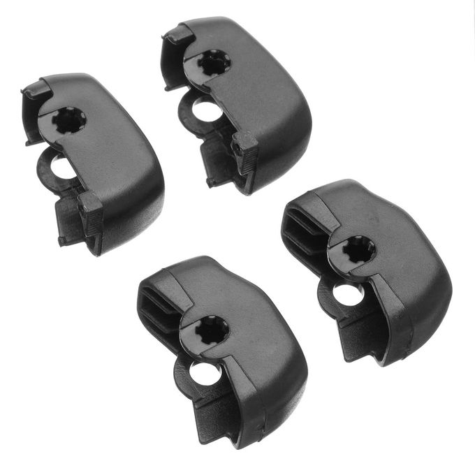 Black Hand Control Switch Housing Cover Cap Set for 2014-2017 Harley Touring