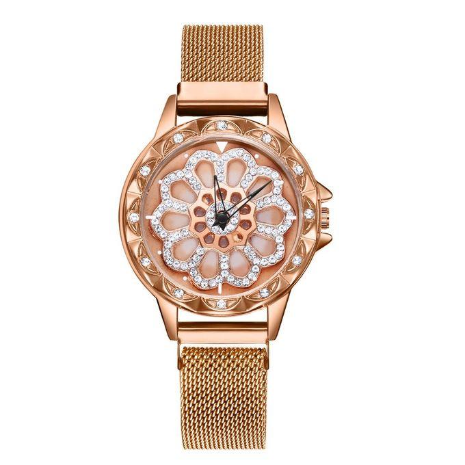 Kol Bleu Montres Run Bayan Luxe Reloj Full True Diamond Pour Mesh Femme Mesdames Quartz Belt To Mujer Dial Mode Montre Femmes Saati Nn8m0vw