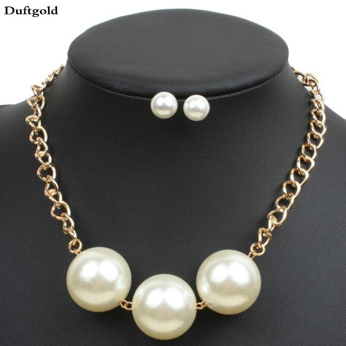 grand collier perle
