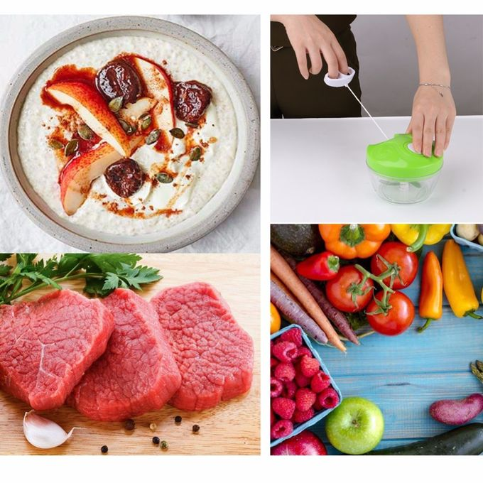 Manuel légumes Chopper Cutter Processeur Hachoir ail Cutter Légumes Fruit