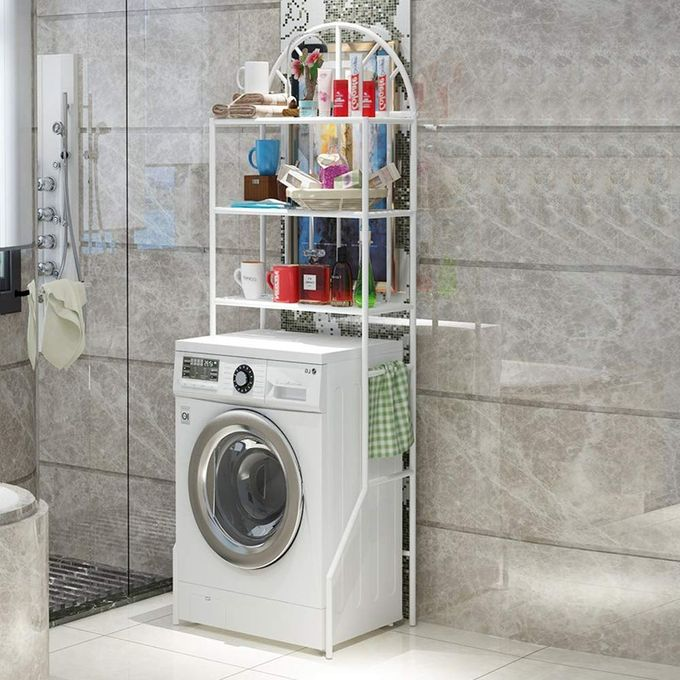 Generic Meuble Etagères de WC,Meuble de Rangement au-Dessus des Toilettes WC ou Lave-Linge avec ...