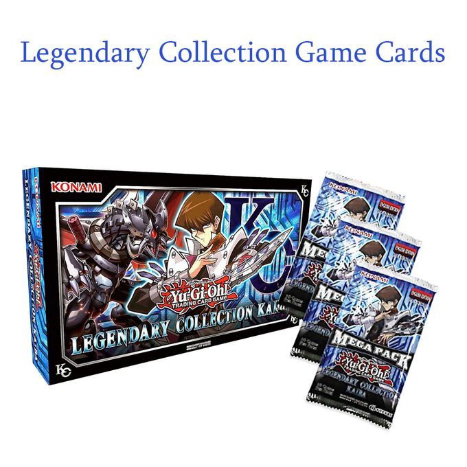 Generic Yu Gi Oh Legendary Collection Kaiba Game Cards 153pcs Prix Pas Cher Jumia Sn