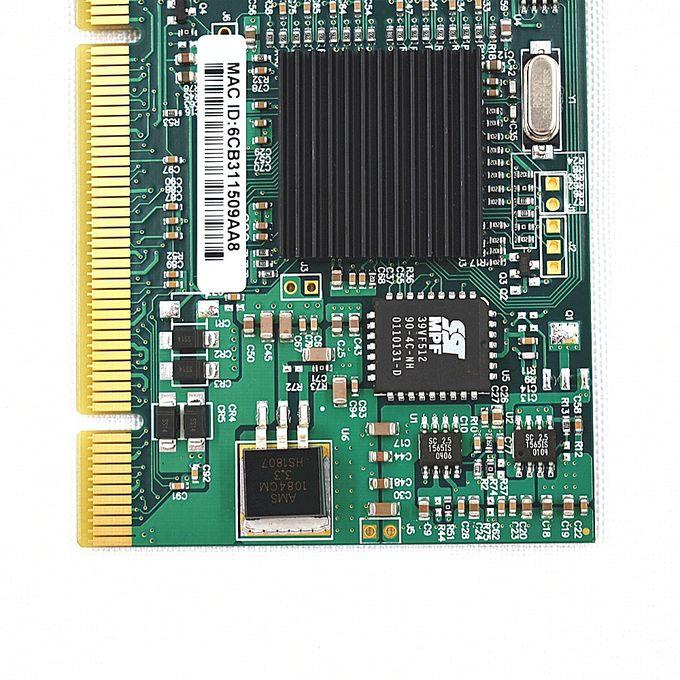 NEW--Intel PWLA8492MT 82546 Chipset Pro 10//100//1000 Gigabit Dual-Port PCI Lan