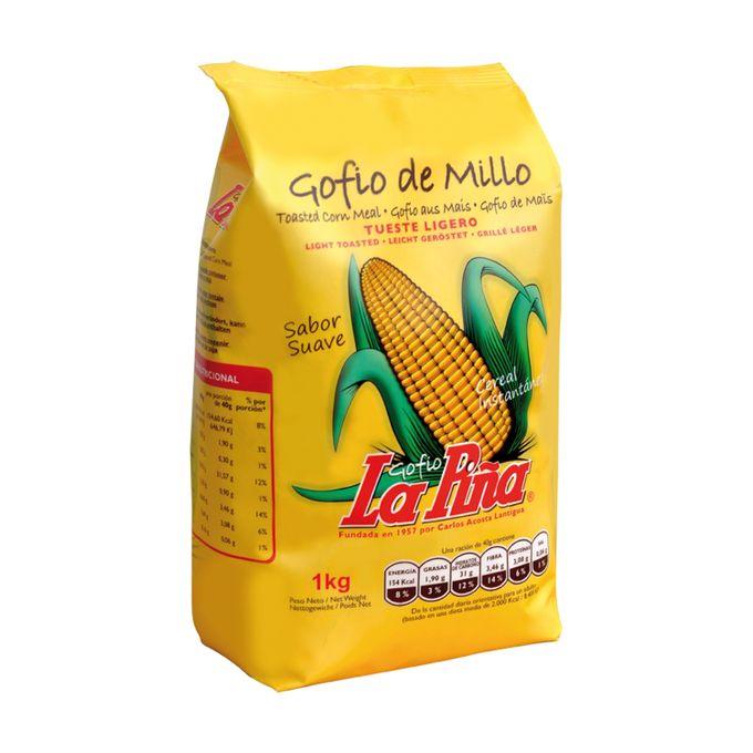 Gofio de Maïs La Piña - Gofio de Millo - Torréfaction ...