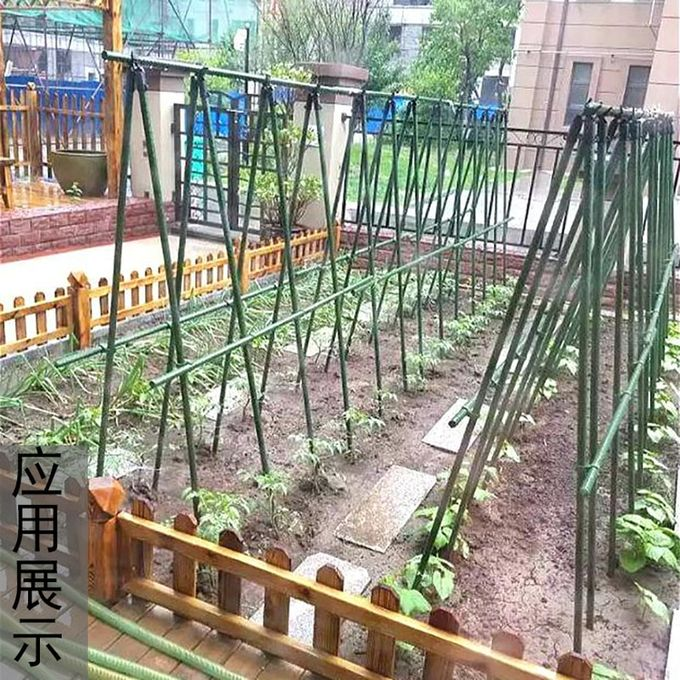 16mm Garden Plastic Supports Connectors Climbing Plants Pole Joints Special New