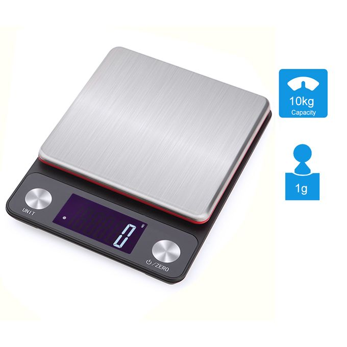 10kg//1g Multifunction High Precision Kitchen Food Scale 7 unit,Baking,Cooking