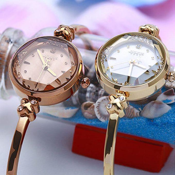 Generic Or Women Wrist Watch Fashion Slim Design Rhinestone Shell Bracelet Chain Coffee Light Coffee Dark C Prix Pas Cher Jumia Sn