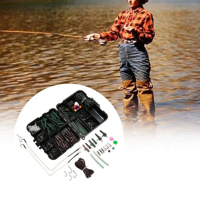 100 Taille 8 Matt Black émerillons FIT carpe pêche à poids Clips Cheveux Rigs