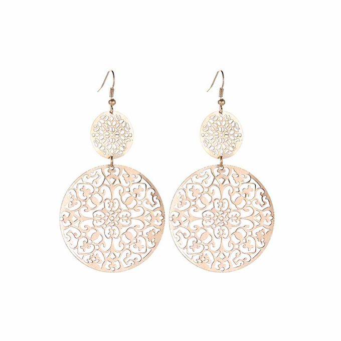 Generic Or European And American Fashion Earrings Retro Hollow