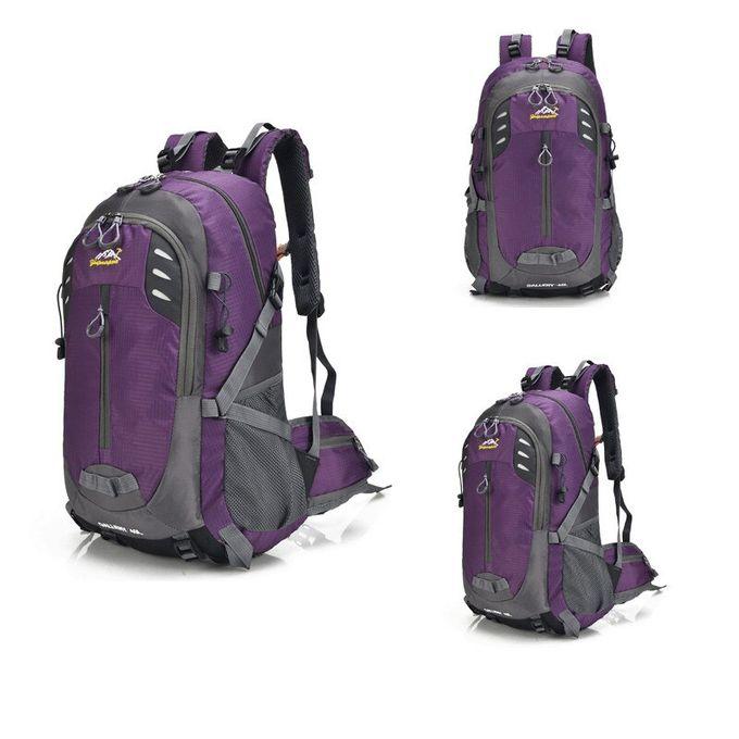 40L Sac A dos Randonné Camping Trekking Backpack Voyage Sport Sac à Dos en Nylon