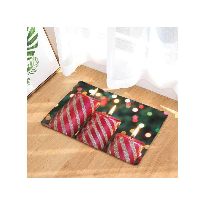 Maison De Noël Antidérapant Porte Tapis De Sol Tapis Tapis Cuisine Salle De  Bain Tapis Décor