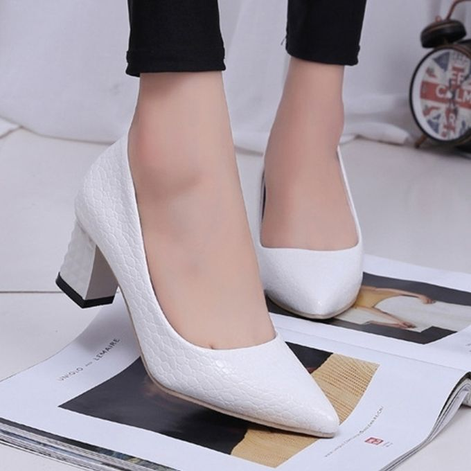 Fashion 6CM Thick Heel Office Shoes