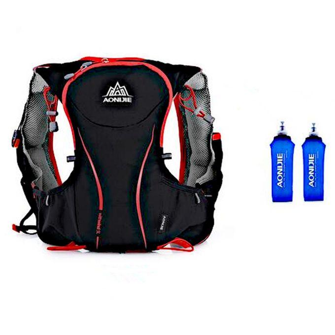Sac d/'hydratation de 5,5 L Sac /à dos /à 6 poches avec pack dhydratation pour marathon par AONIJIE course /à pied randonn/ée