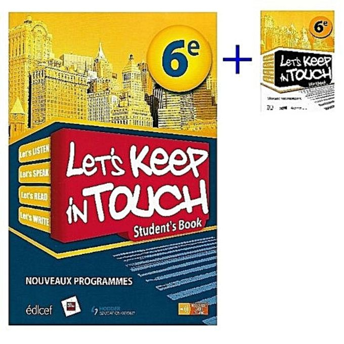 Livre D Anglais Keep In Touch 6e