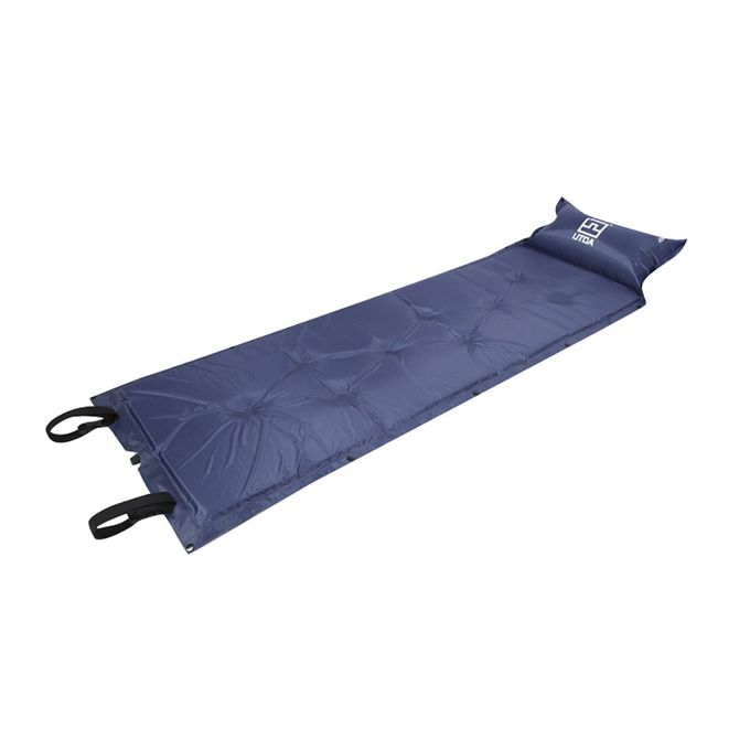Auto Gonflant Camping Rouleau Tapis//Coussin Gonflable Lit Couchage Matelas 77x22in Sac