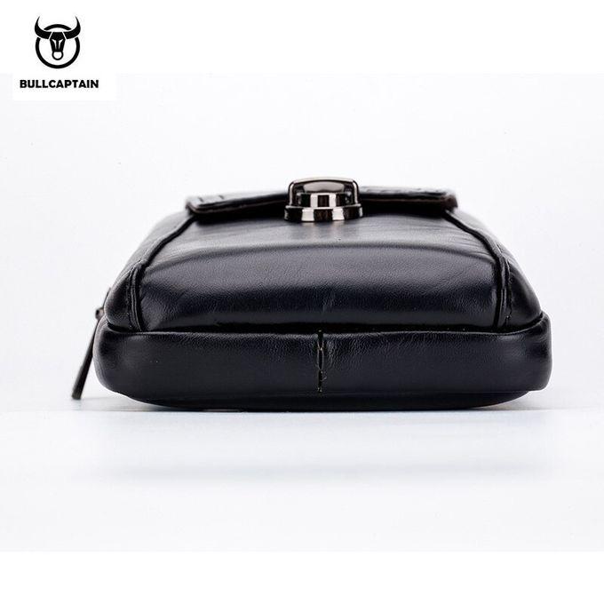 Jaune Hommes T/él/éphone Portable Ceinture Sac Retro Design t/él/éphone Mobile Taille Cuir Pochette de Rangement Porte Pouch