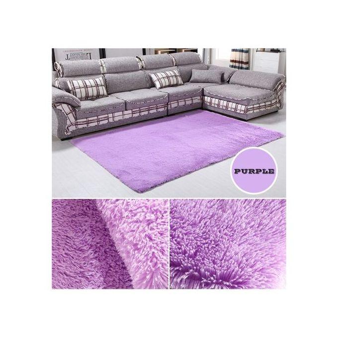 Des Tapis Moelleux Tapis Salon Anti-Skid Shaggy, Tapis Tapis De 160x230cm  Violet