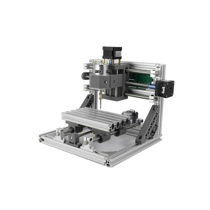 Flash Deal 3 Axis Diy Cnc 2418 Cnc Router Pcb Milling Carving Engraving Machine 24x18x4cm
