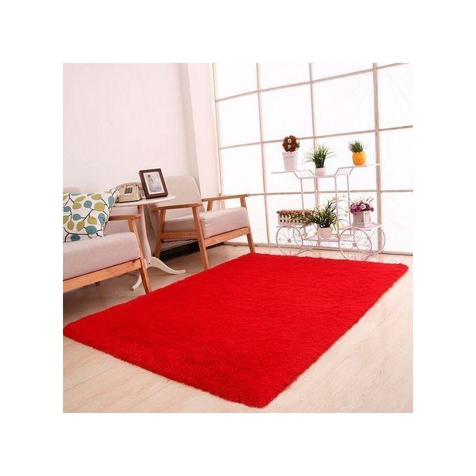 Moquette Anti-Dérapante Pour Salon 50 X 80cm - Rouge