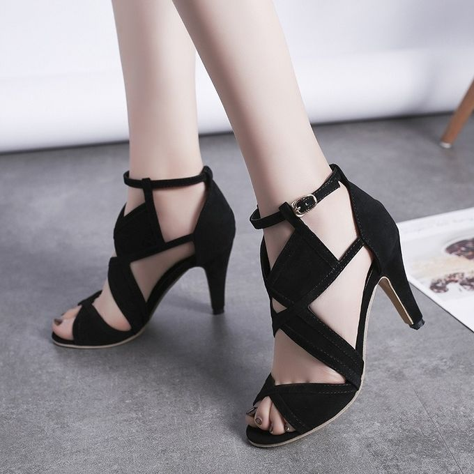 Fashion Lady New Open Toe Thin Heel Super High Heel Sandals Prix Pas Cher Jumia Sn