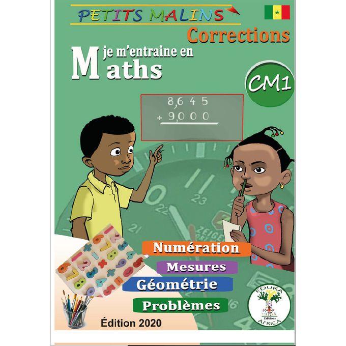 Edition Maths Cm1 Exercices Correction 2 Livrres Prix Pas Cher Jumia Sn
