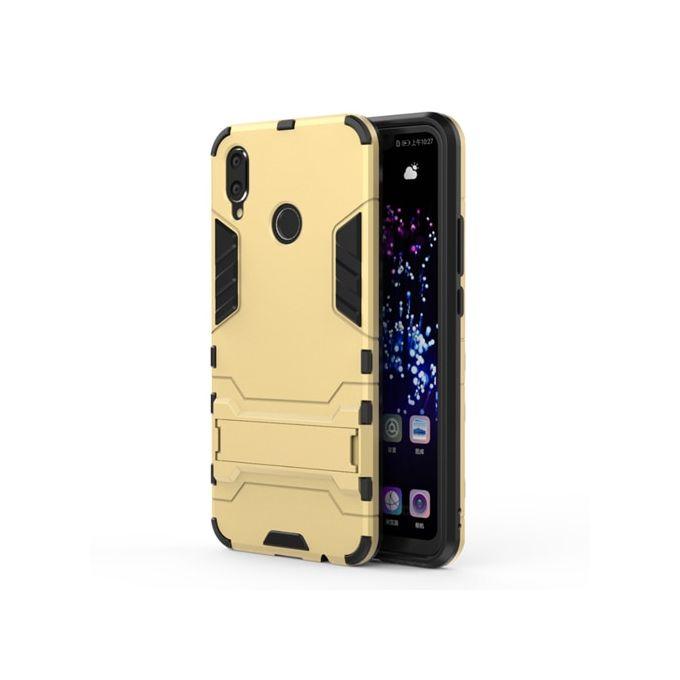 Coque Huawei Nova 3i Coque En Silicone Anti-Knock Robot Armure En Plastique Coque Arrière Pour Téléphone - Or