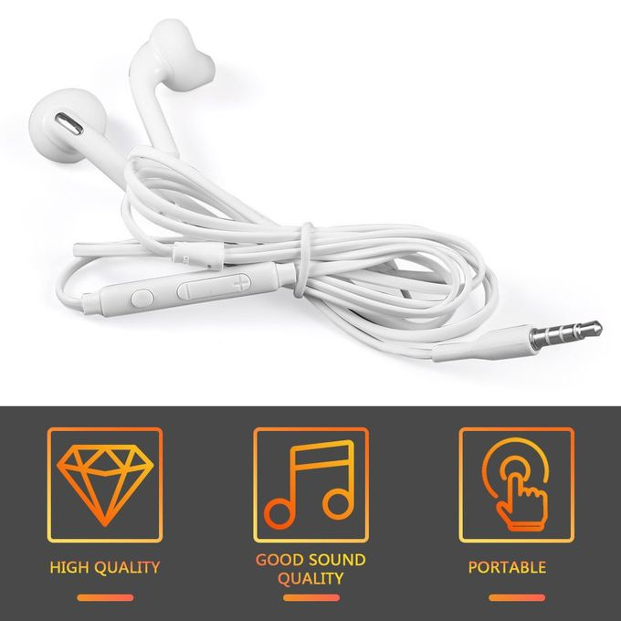 Sound Clarity Convenient and Light Fashionable Design Earphone for Samsung S6