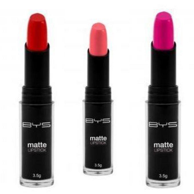 Coffret Rouge à Lèvres Matte Warme Bys