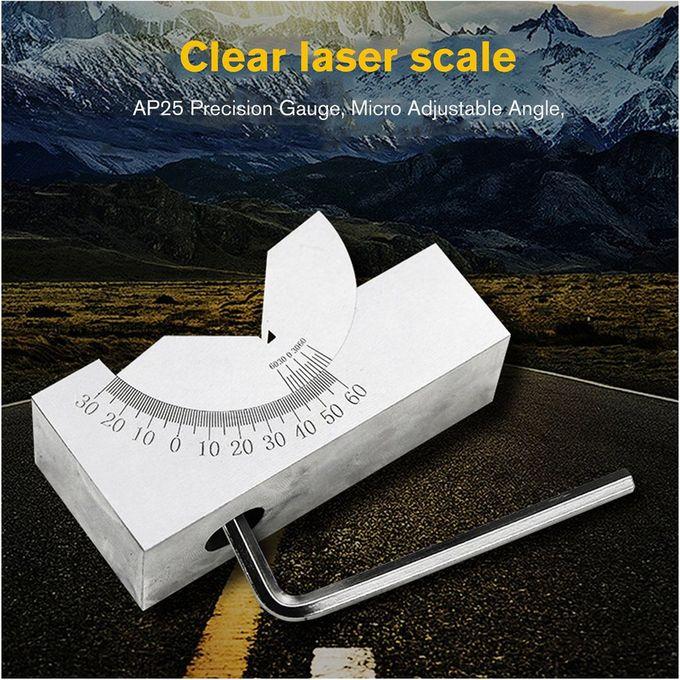 Adjustable Angle V Block 0° to 60° Precision Gauge Micro Milling Setup /& Wrench