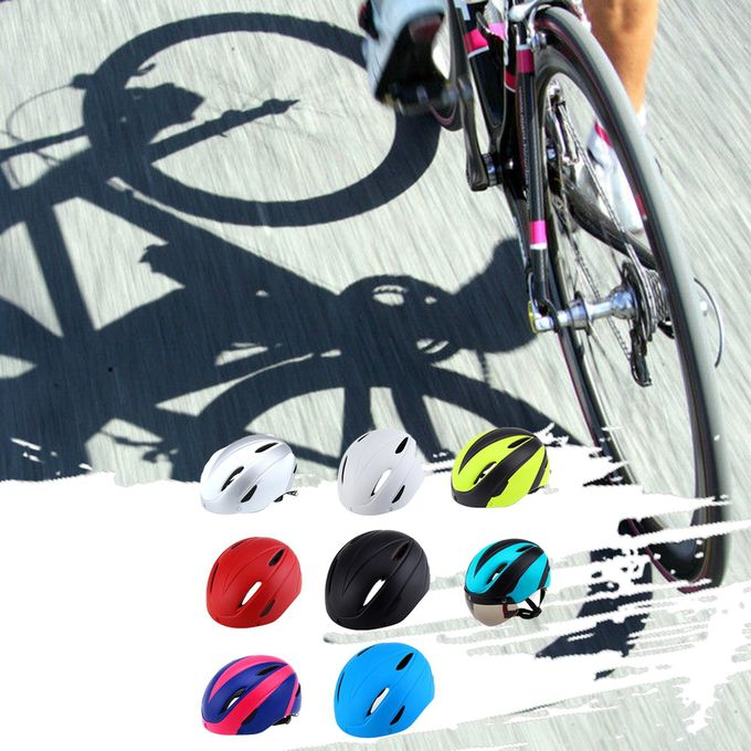 BC-001 Bike Bicycle Riding Protective Helmet Adjustable Safety Head Protect Pure Black