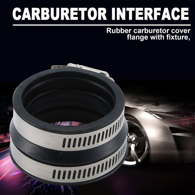 RUBBER CARBURETOR BOOT FLANGE w//CLAMPS Fits CAN-AM BOMBARDIER DS 650 2000-2007