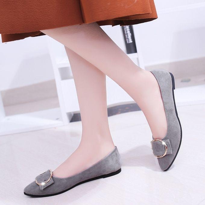 Fashion Ladies pointed metal ring