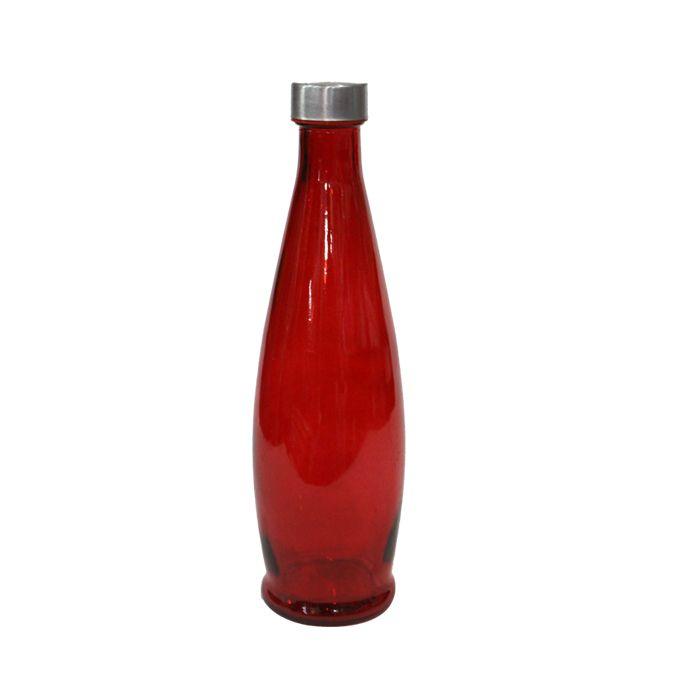 Bouteille Eau Verre 1l Rouge