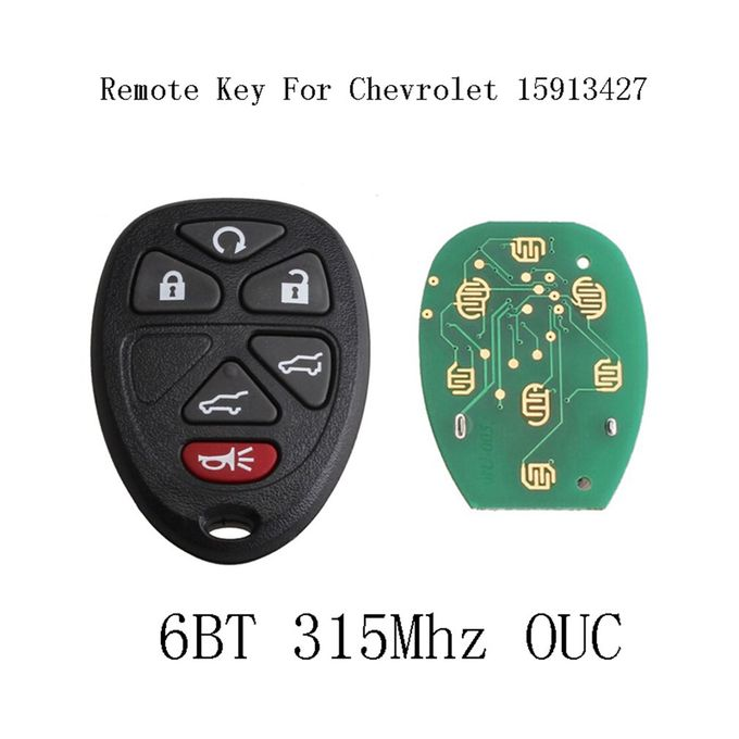 New Replacement Keyless Entry Remote Start Key Fob Clicker Control for 15913427