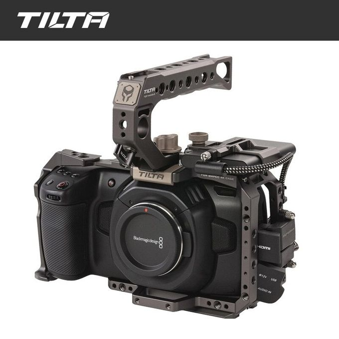 Tilta Top Handle Quick Release Color Grey TA-QRTH-G for TILTA BMPCC 4K Camera Cage Rig