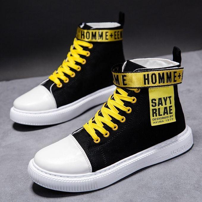 Fashion Men's Hip Hop Sports Shoes High