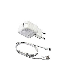 chargeur iphone x  5,5s,6,6s,7,8 - blanc